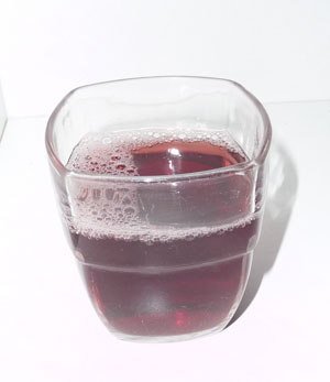 Grape juice.